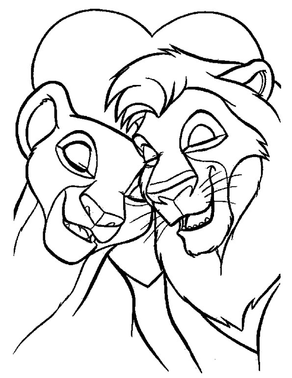 Disney Coloring Picture for Kids Drawing