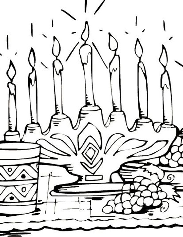 being celebrate coloring pages