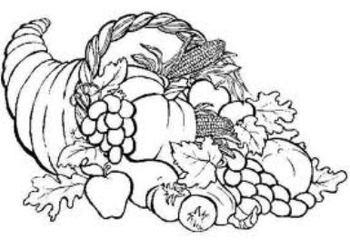 Coloring Pages Online Fall Pilgrim